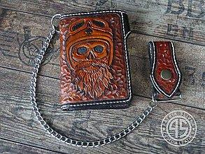 Peňaženky - Kožená peňaženka - 9173685_