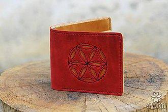 Tašky - Kožená peňaženka VI. Svarga - 9176881_