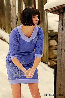 Šaty - Dámske šaty mini, šité, maľované, etno CASSIOPEIA - 9174014_