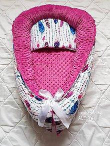 Textil - hniezdo pre bábätko pierka a minky - 9174743_