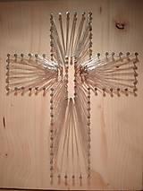 Dekorácie - Kríž tak trochu netradične - 9177090_