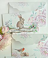 - Jarný pozdrav karty/obálky - 9173315_