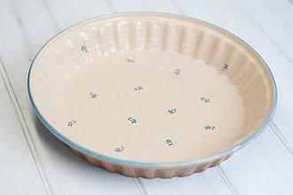 Nádoby - Forma na koláč Nezábudky - 9176506_