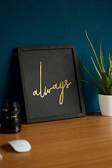 Obrazy - Always - 9173571_
