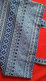 Nákupné tašky - Nákupná taška  - modrá - 9174061_