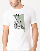 Oblečenie - Len bez ženy... - tričko s autorskou potlačou - 9176807_