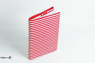 Papiernictvo - Obal na knihu otvárací - námornícky - 9173065_