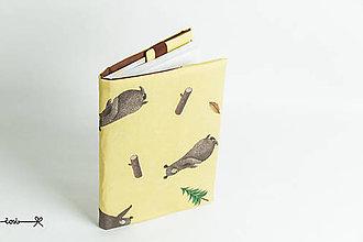 Papiernictvo - Obal na knihu otvárací - medvede - 9173125_
