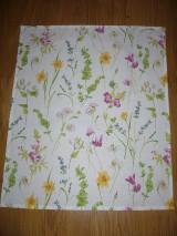 Úžitkový textil - Obrus jarná lúka 50x60 cm - 9176679_