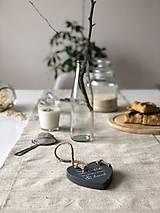 Štóla na stôl z ľanového plátna