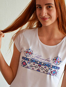 Tričká - I ♥ Slovakia- winter (ladies) - 9175511_