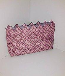 Peňaženky - Ružová mini - 9175154_