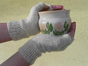 Návody a literatúra - Bezprsté rukavice - návod a materiál - 9180896_
