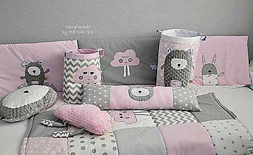 Úžitkový textil - Mantinel na stenu BASIC - 50x200cm - 9178340_