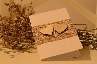 Papiernictvo - Pohľadnica Two hearts - 9181809_
