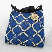 Kabelky - FLOWER BAG *** BLUE *** PARROT® - 9179430_