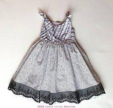 Detské oblečenie - Do Re Mi - dievčenské šatičky veľ.104/116 - 9178075_
