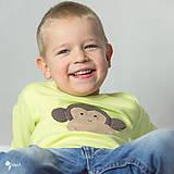 - tričko (dlhý rukáv) OPICA - 9178943_