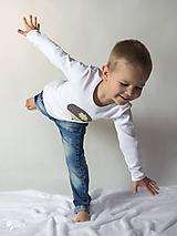 Detské oblečenie - tričko JEŽKO 86 - 134 (dlhý aj krátky rukáv) - 9179039_