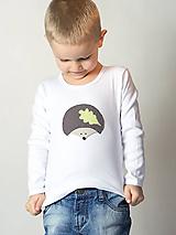 Detské oblečenie - tričko JEŽKO 86 - 134 (dlhý aj krátky rukáv) - 9179045_