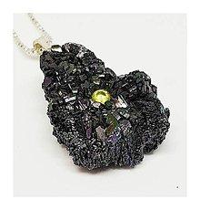 Náhrdelníky - Dúhový záblesk (zirkón v karbide kremíka) - 9182253_