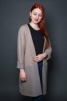 Kabáty - Oversize kabát - 9177602_