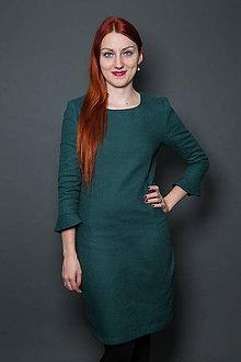 Šaty - Zelené šaty - 9177666_