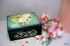 - drevená šperkovnica Hlbočina - 9177614_