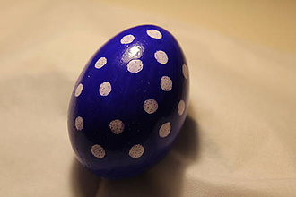 Dekorácie - modré vajíčko - 9181563_