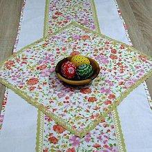 Úžitkový textil - Jarná nálada -  obrus štvorec 40x40 - 9182282_