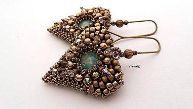 Náušnice - Angel (bronz) - 9178014_