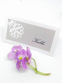Papiernictvo - svadobná menovka 113 - 9177838_