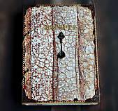 Papiernictvo - Receptár,kuchárska kniha,zápisník receptov Čipka - 9178162_