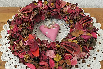 Dekorácie - jesenny veniec - 9179893_