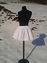Sukne - Mini suknička-spodnička - 9179034_