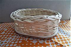 Košíky - Košík z pedigu - malý, oválny - 9179644_