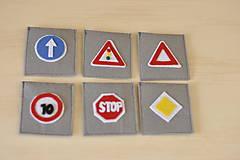 Hračky - Dopravné značky - 9183022_