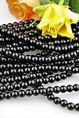 - swarovski čierne korálky 8mm - 9184170_