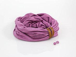Šatky - Elegantný nákrčník z francúzskej ľanovej pleteniny