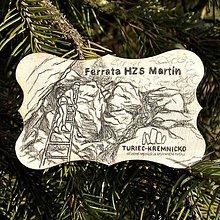 Magnetky - Magnetka Ferrata HZS Martin - 9185814_