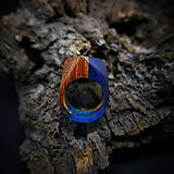 Prstene - Drevený prsteň: Utajená rieka - 9183825_