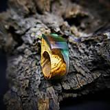 Prstene - Drevený prsteň: Toskánsky sen - 9184536_