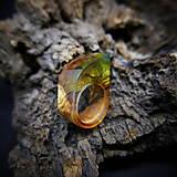 Prstene - Drevený prsteň: Toskánsky sen - 9184537_