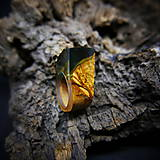 Prstene - Drevený prsteň: Toskánsky sen - 9184538_