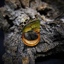 Prstene - Drevený prsteň: Toskánsky sen - 9184530_