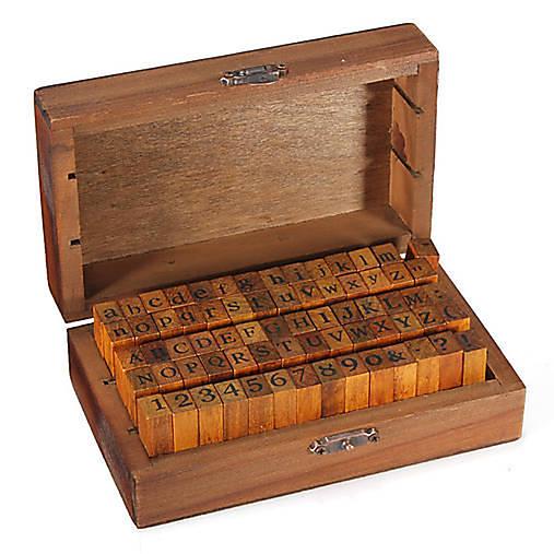 Krabička s pečiatkami