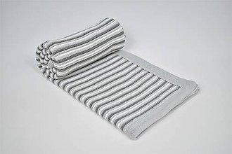 Textil - Pletená detská deka