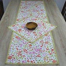 Úžitkový textil - Jarná nálada - stredový obrus(2) - 9185319_