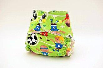 Detské doplnky - Enjoy Soccer - BIO Nohavičková plienka + vkladačka - 9185338_