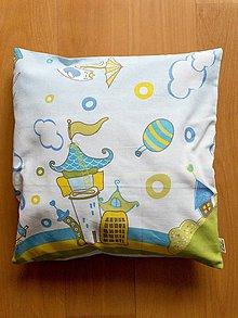 Úžitkový textil - Detský vankúšik - návlek - 9185955_